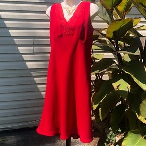 Candy Apple Red Cocktail Dress